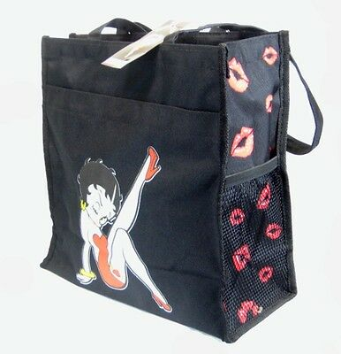 Betty Boop Tote Bags - Classic Black