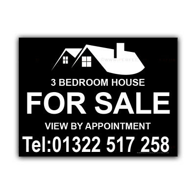 House For Sale Correx Sign Boards Estate Agent Bed Property Signs X2(CORCP00067)