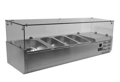 Restaurant Refrigerated Countertop Sandwich Salad Pizza Prep table 304Stainless