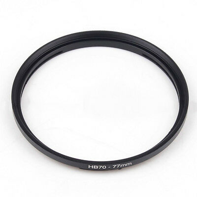 Hasselblad HB 70 - 77mm Step Up Ring Filter Adapter 70mm Bayonet lens to 72mm