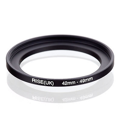 42mm-49mm 42mm to 49mm  42 - 49mm Step Up Ring Filter Adapter for Camera Lens