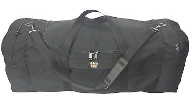 Ex extra large triple duffle bag easy excess U opening front pocket Made in USA