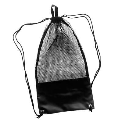 Heavy Duty Mesh Gear Equipment Carry Bag Backpack for Scuba Diving Swimming