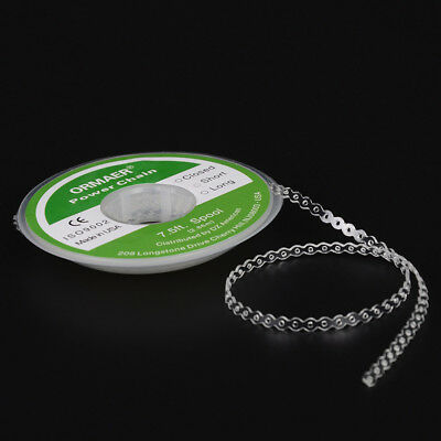 Dental Orthodontic Elastic Ultra Power Chain Rubber Band Long/Closed/Short Clear