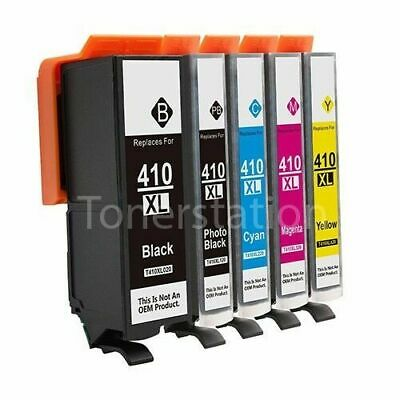 Generic Ink 410XL 410 Compatible for Epson XP530 XP540 XP630 XP640 XP900 Inkjet