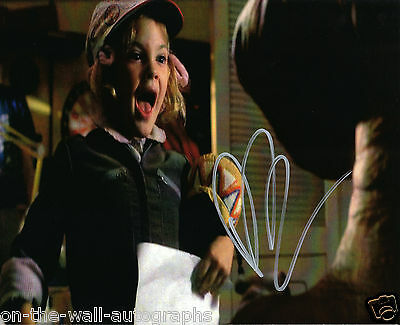 Drew Barrymore Young Hand Signed Autographed E.t. Photo! With Proof + C.o.a.!