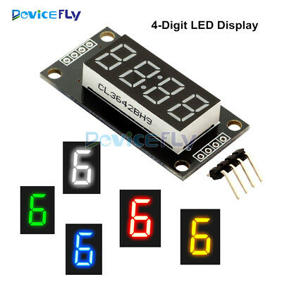 "TM1637 4-Bits Digital  LED Anzeige Clock Tube  Display 0.56""  For Arduino 5Color"