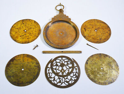 19th C. ANTIQUE OTTOMAN OR QAJAR PERSIAN ASTROLABE ARABIC ISLAMIC