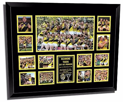 Richmond Fc 2017 Afl Premiers Framed Memorabilia
