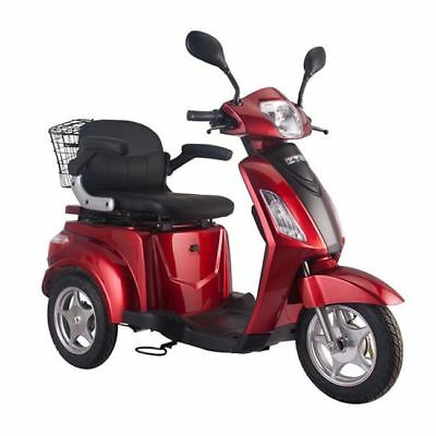 Easy Rider Electric mobility scooter Adult Moped 8mph Road legal 3 Wheeled RED