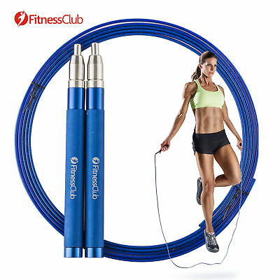High Speed Skipping Rope Adjustable Boxing Fitness Jump Rope With Free Nylon Bag