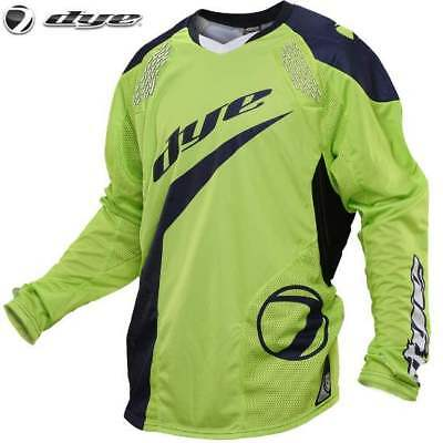 DYE C14 Paintball Jersey / Trikot (Ace Lime Navy, S/M)