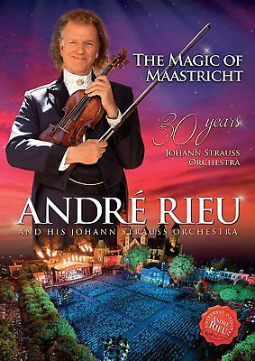 Andre Rieu The Magic Of Maastricht Dvd - New Release November 2017