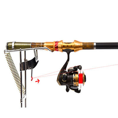 Automatic Adjustable Tackle Bracket Double Spring Fishing Rod Holder Accessories