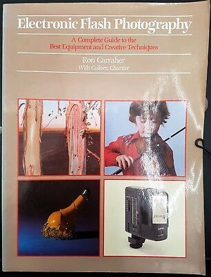 Electronic Flash Photography Camera Book Ron Carraher