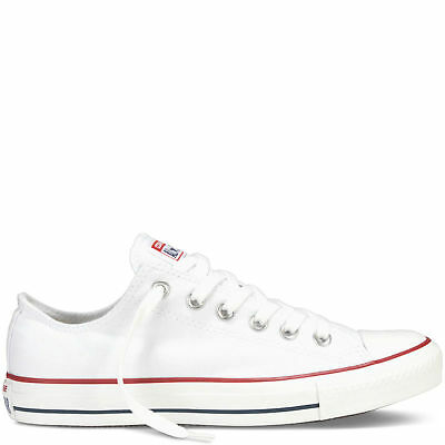 Converse Chuck Taylor All Star Lo Tops Unisex Canvas Trainers White
