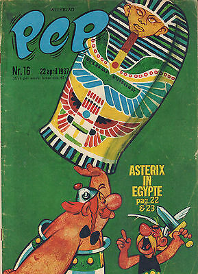 PEP 1967  nr. 16 - ASTERIX (COVER) /AJAX / BATMAN / HANS G. KRESSE