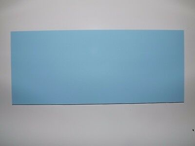 Cut Acrylic Baby Blue Pastel Perspex A6 - A3 Cast Acrylic Cut To Size