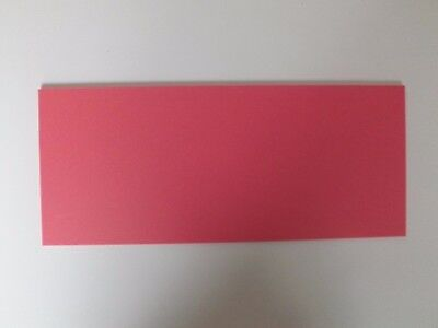 Cut Acrylic Raspberry Red Pastel Perspex A6 - A3 Cast Acrylic Cut To Size