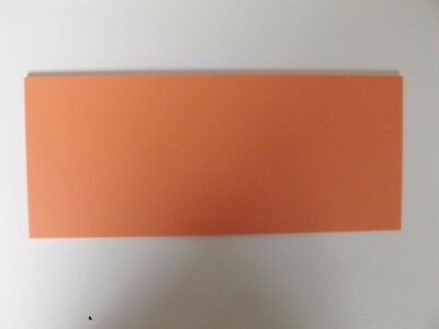 Cut Acrylic Fizzy Orange Pastel Perspex A6 - A3 Cast Acrylic Cut To Size