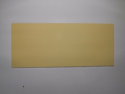 Cut Acrylic Lemon Yellow Pastel Perspex A6 - A3 Cast Acrylic Cut To Size