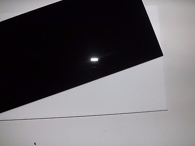 Cut Acrylic Gloss Black Perspex A6 - A3 Cast Acrylic Cut To Size