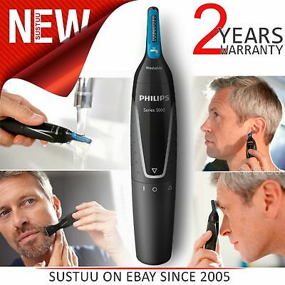Philips Series 5000│Men's│Nose│Ear│Eyebrow│WaterProof│Hair Trimmer Grooming Kit│