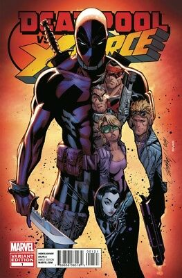 Deadpool vs. X-Force (2014) #   1 CAMPBELL VARIANT (9.2-NM)