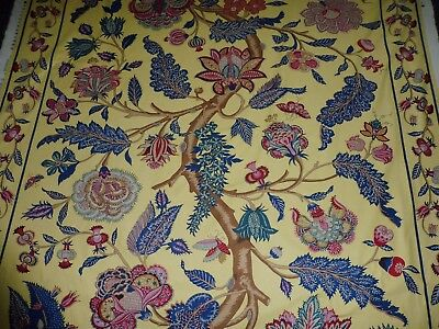 Zoffany Fabric - Indienne - Tree Of Life Style