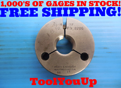 D2057-1 7//8-14 GO RING GAGE