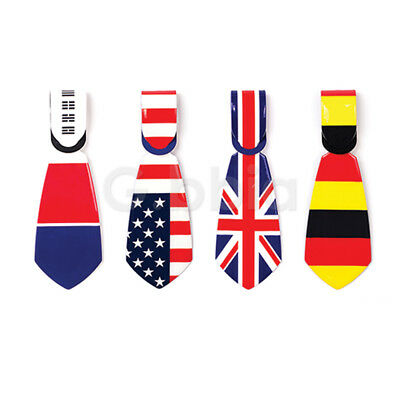 Travel Luggage Bag Tag Name Address ID Label National Flag Baggage Suitcase Tie