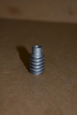 "Worm gear, 1/2"" pitch dia, 1/4"" bore, 24"" pitch, LUHB Boston Gear"