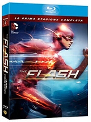 The Flash - Stagione 1 (4 Blu-Ray Disc) - ITALIANO ORIGINALE SIGILLATO -