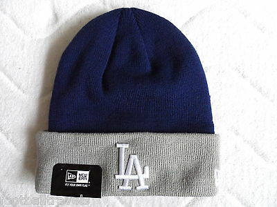 LA DODGERS NEW ERA Official BEANIE TUQUE Hat baseball Tags Los Angeles G3