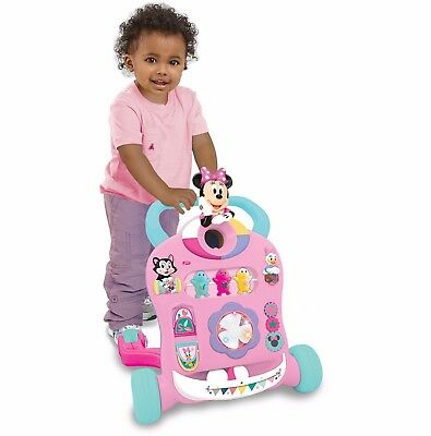 Learning Walker Minnie Mouse Baby Activity Toy Center Christmas Toddler Gift
