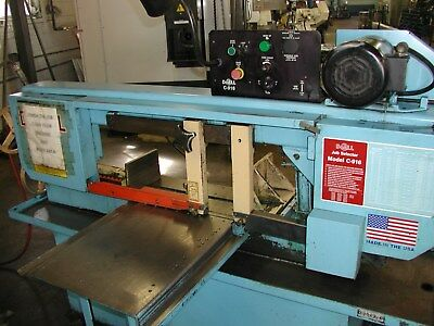 "Do-All  Saw C916M  Manual band saw  9"" x  16"" w; 10-3/4"" dia rounds"