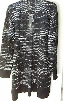 """Nice And Heavy """"apt.9"""" Size X Large Cardigan   New With Tags"""