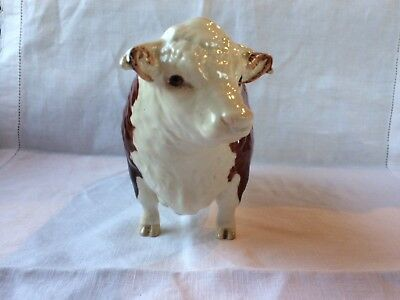 Beswick Hereford Bull 'Ch of Champions' First Version - Model 1363A.