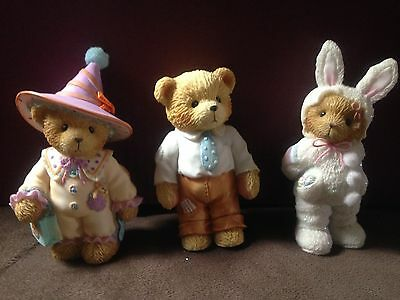 Cherished Teddies Child of Pride, Clown and Bunny