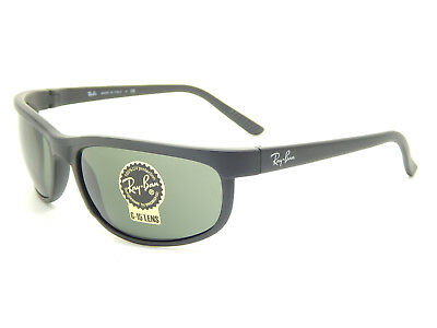 Ray Ban Predator RB2027 W1847 Matte Black / Green Classic G-15 62mm Sunglasses