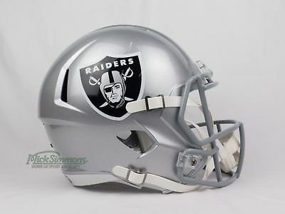 NEW Oakland Raiders NFL Riddell Replica Speed Gridiron Helmet
