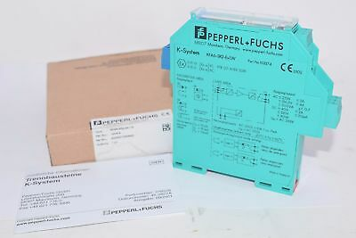 NEW Pepperl+Fuchs Process Automation KFA6-SR2-EX1.W, 103374 Isolator Switch Ampl