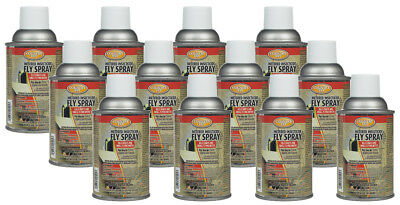 Country Vet Metered Insecticide Fly Spray Refill for Farm, Dairies & Kennels 12