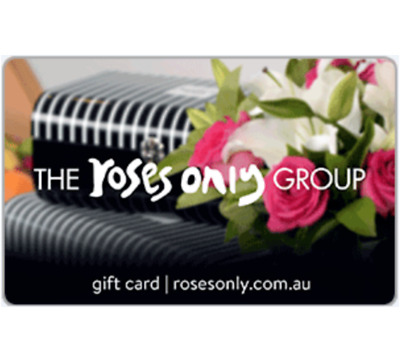The Roses Only Group Gift Card $100 - Fast Email Delivery