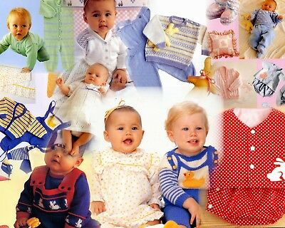 Beautiful Things to Make For Baby Book incl Sewing/Knitting/Crochet