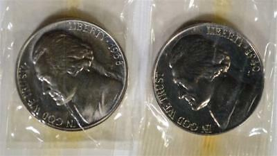 1938 & 40 GEM PROOF JEFFERSON NICKELS IN CELLO Lot 262