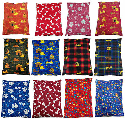 Large XL DOG BED REMOVABLE ZIPPED COVER PET MAT PAD CUSHION COVERS ONLY