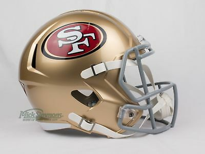 NEW San Francisco 49ers NFL Riddell Replica Speed Gridiron Helmet