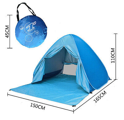 2-3 Person C&ing TentOutdoors Pop Up Lightweight Fishing Hiking Beach Tent  sc 1 st  PicClick & CLEARANCE SALE 2 Person Double Layers Camping Hiking Backpacking ...