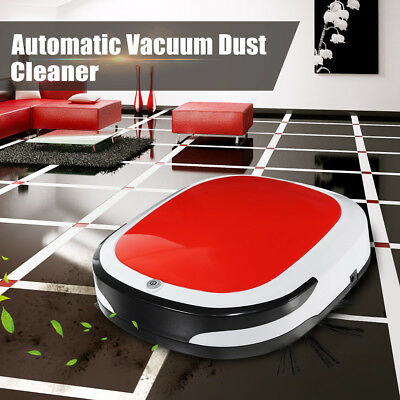 Auto Vacuum Cleaner Smart Cleaning Robot Dry Wet Cordless Dust Sweeping Machine